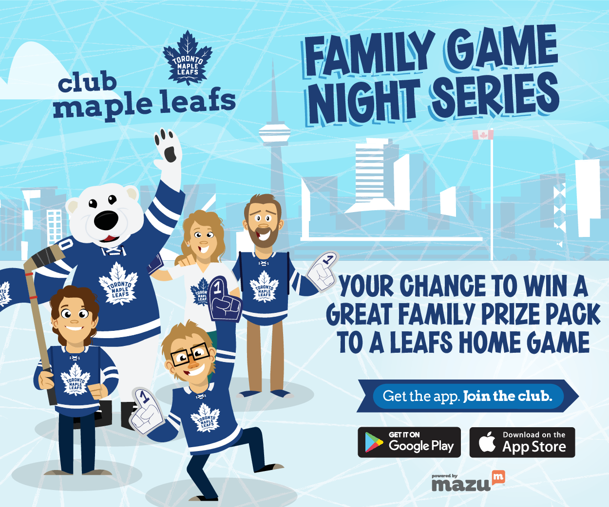 bbc7dbdb03b Win Toronto Maple Leafs Tickets with Club Maple Leafs!