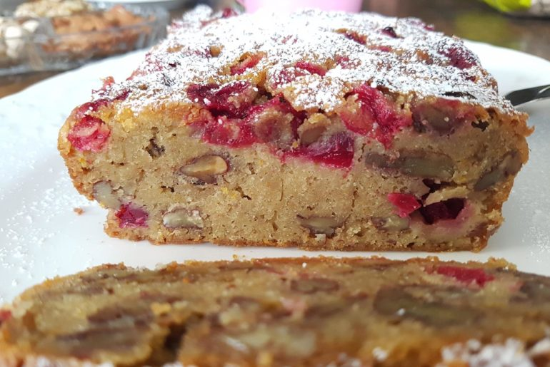 Gluten-Free Cranberry Pecan Loaf | amotherworld