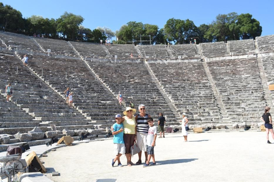 Best Places to Visit in Greece | Epidaurus Theatre | amotherworld | amotherworld.com