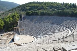 Best places to visit in Greece: Epidaurus Theatre