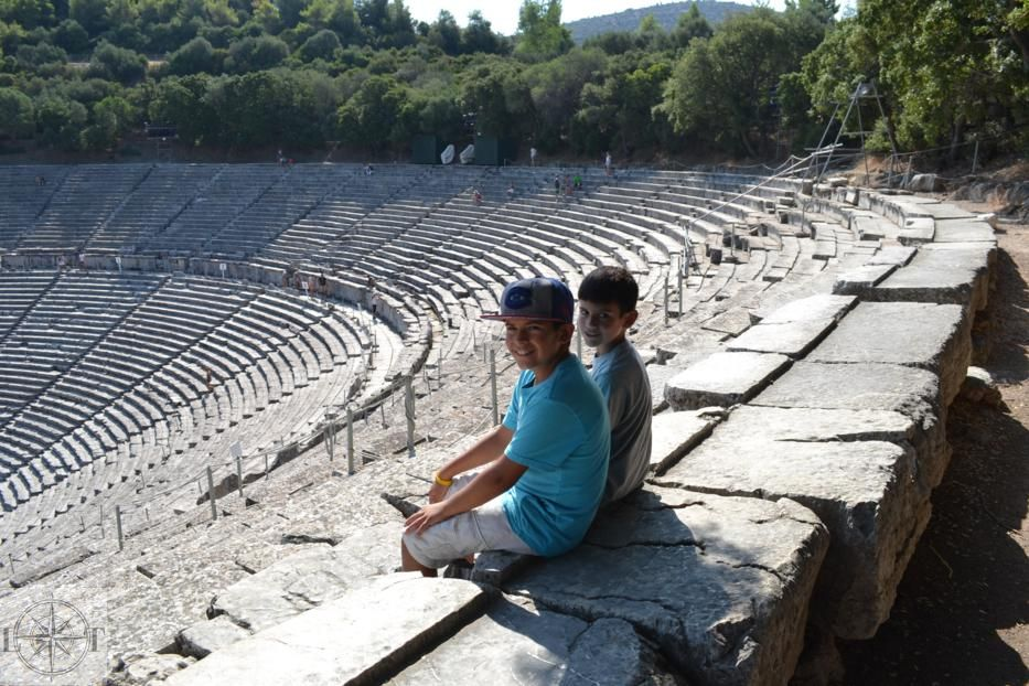 Best Places to Visit in Greece | Epidaurus Theatre | amotherworld.com