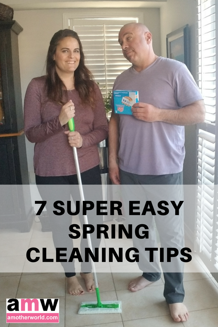 7 Super Easy Spring Cleaning Tips | amotherworld.com