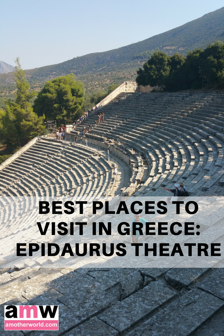 Best places to visit in Greece - Epidaurus Theatre