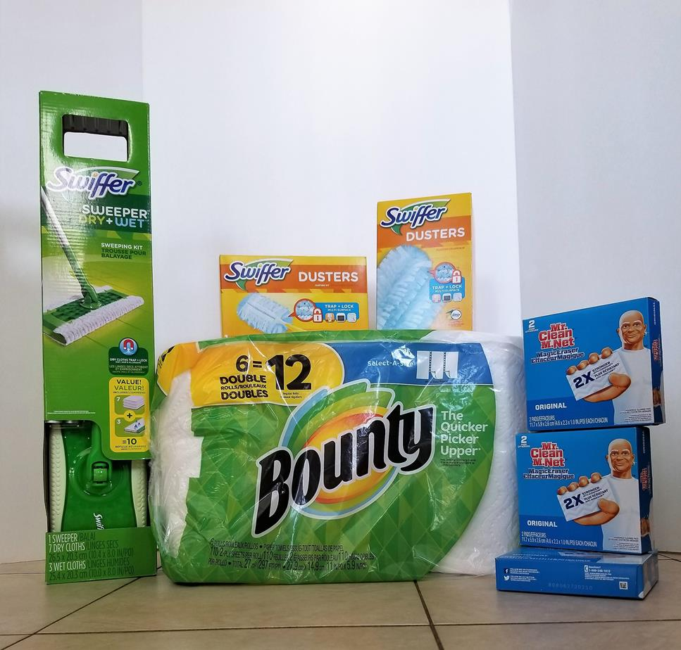 Spring Cleaning P&G Costco Prize Pack