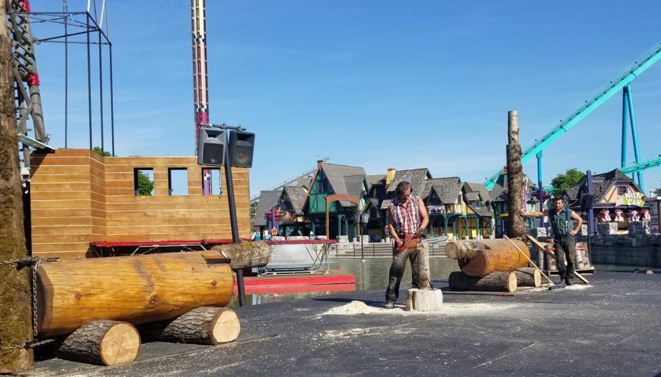 The West Coast Lumberjacks at Canada's Wonderland