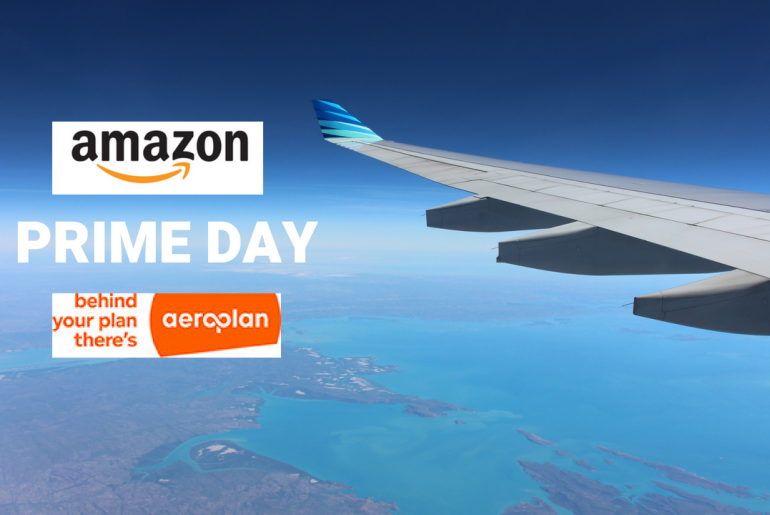 Aeroplan offer on Amazon Prime Day 2018