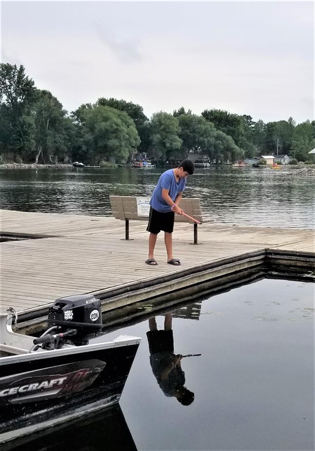 Fishing at Fern Resort