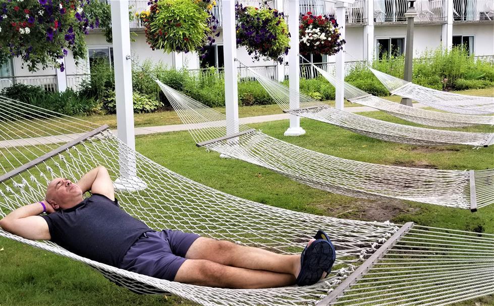 Fern Resort Orillia Ontario Hammocks