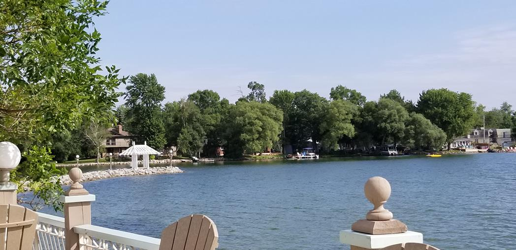 Fern Resort Ontario View of the lake