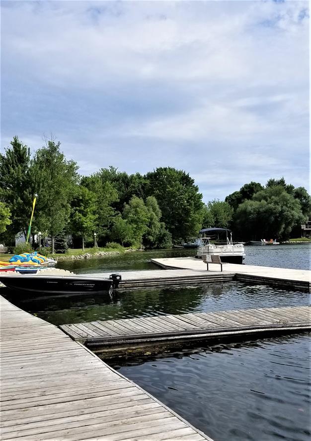 Fern Resort Ontario docks
