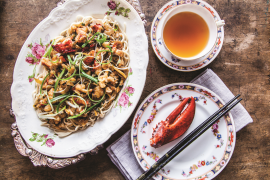 Spadina Special Cantonese Lobster Lo-Mein