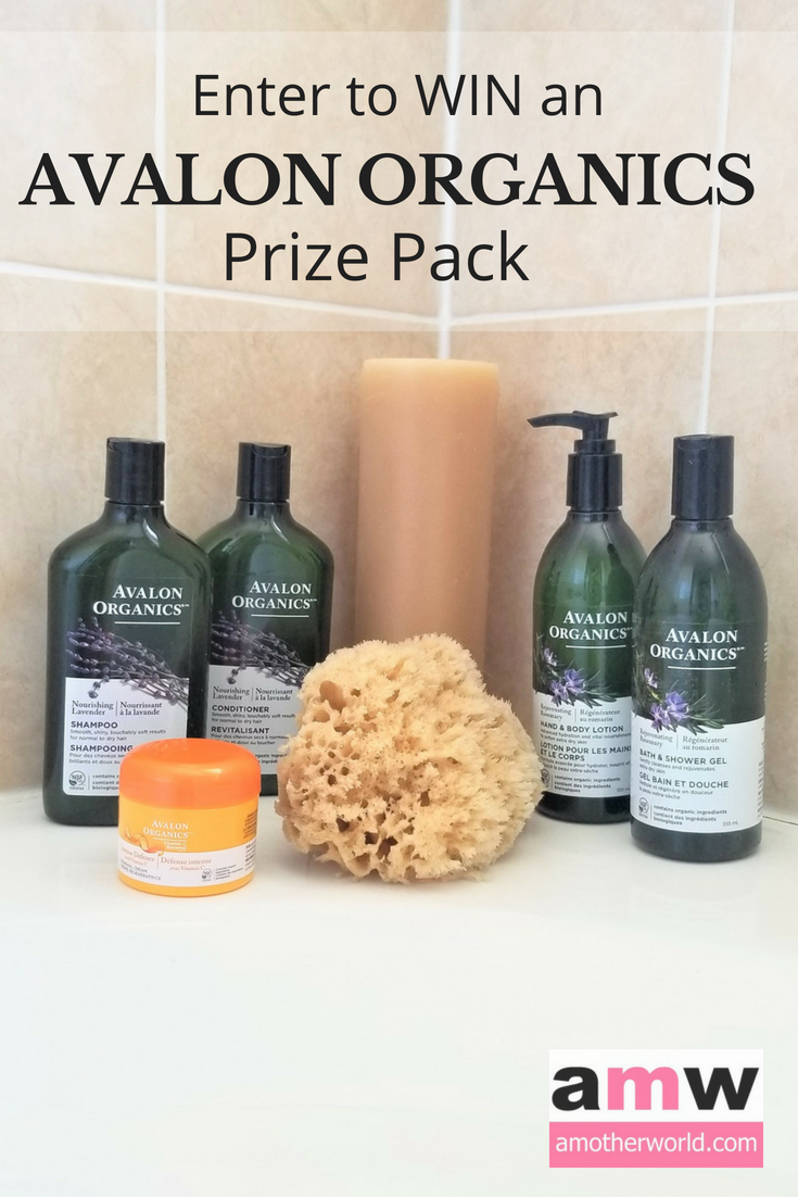 WIN an AVALON ORGANICS PRIZE PACK | amotherworld.com