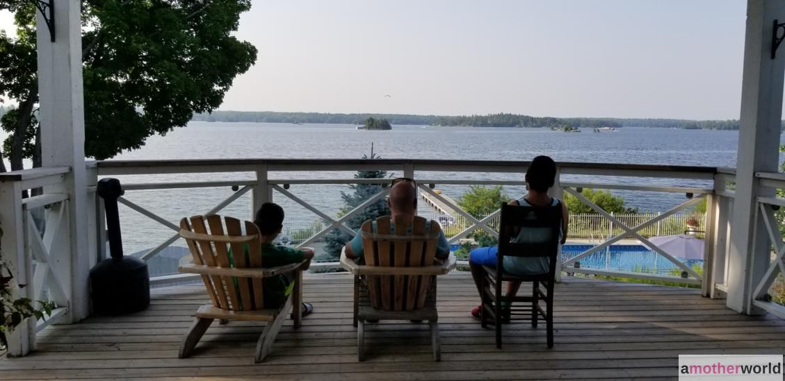 Views of the Pool and Stoney Lake at Viamede
