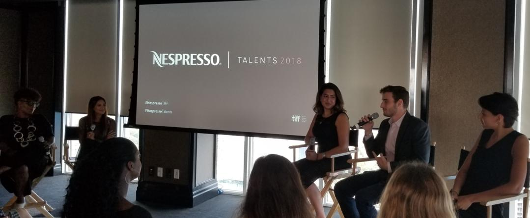 Nespresso Talents panel