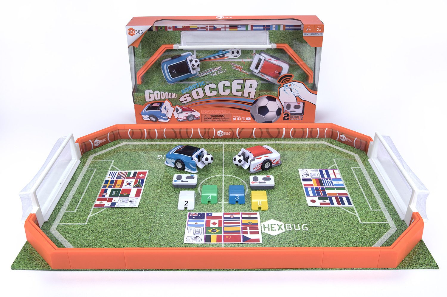 Holiday Gift Guide for Kids - HEXBUG Robotic Soccer Arena