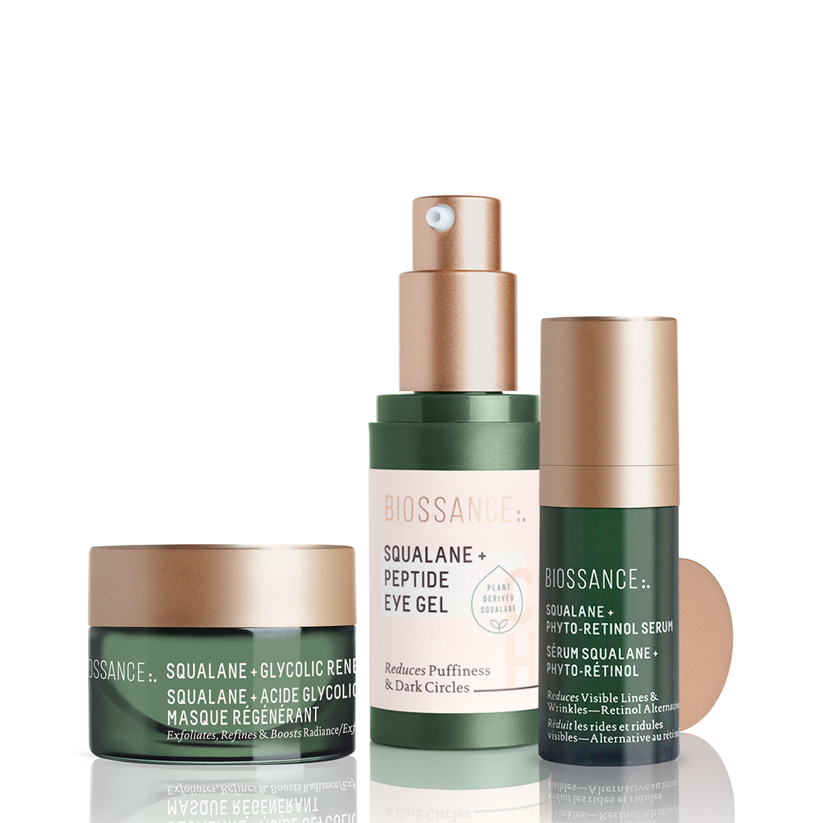 Holiday gifts for her - Biossance Youth Ritual Set