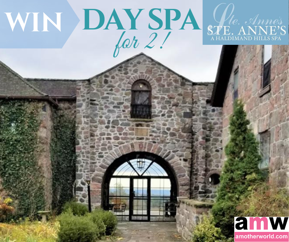 Ste. Anne's Spa Mother's Day Giveaway