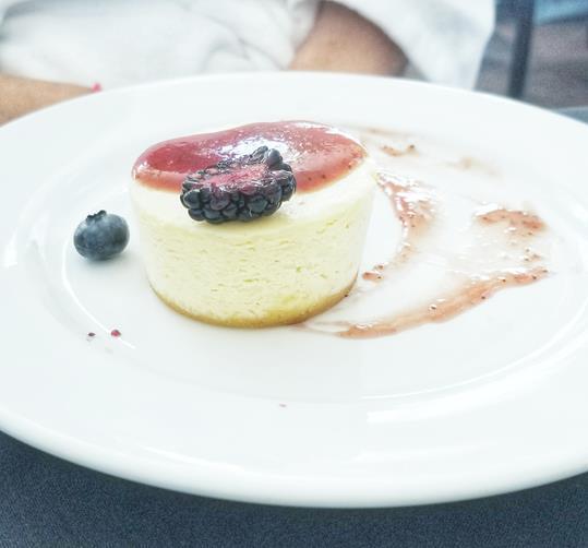 Ste Anne's Spa Cheesecake
