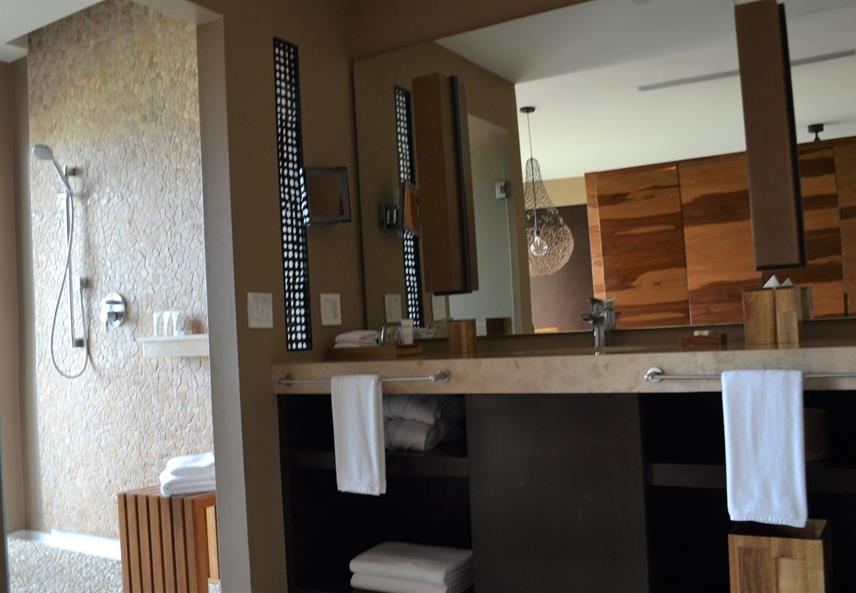 Andaz Bay Room Bathroom