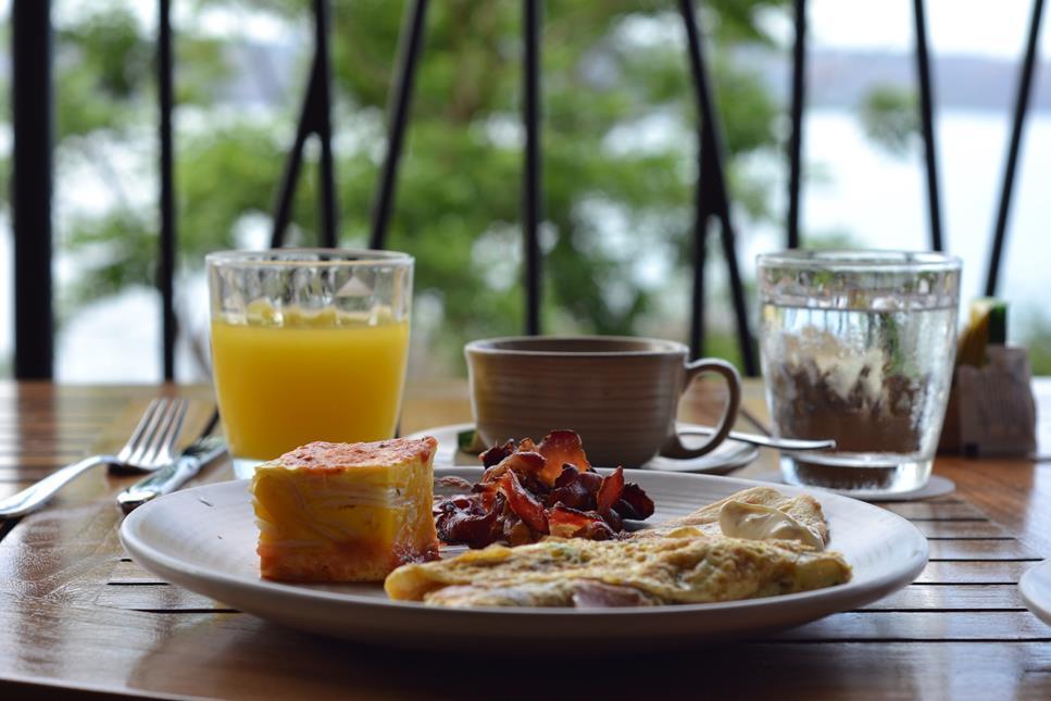 Andaz Costa Rica Breakfast Rio Bhongo