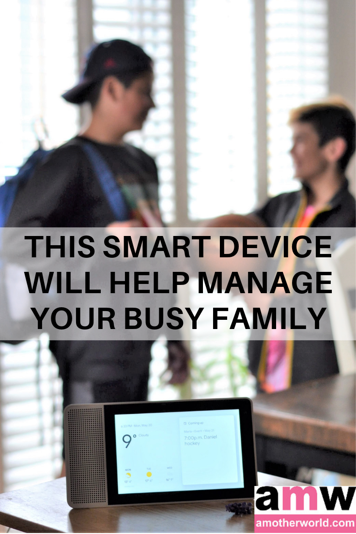 This Smart Device Will Help Manage Your Busy Family — amotherworld.com
