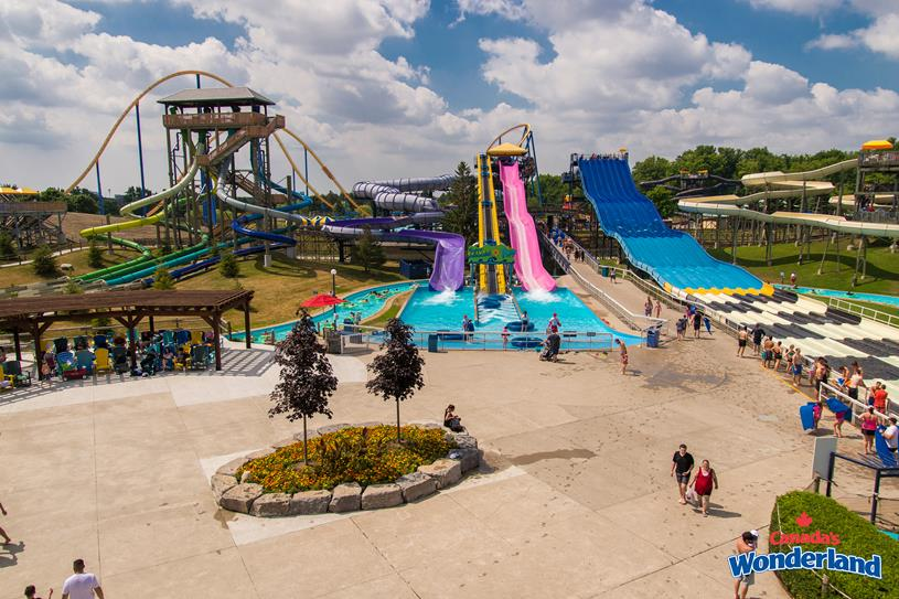Canada's Wonderland Splash Works