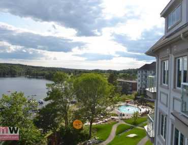 Deerhurst Resort Lakeside Lodge condo balcony view