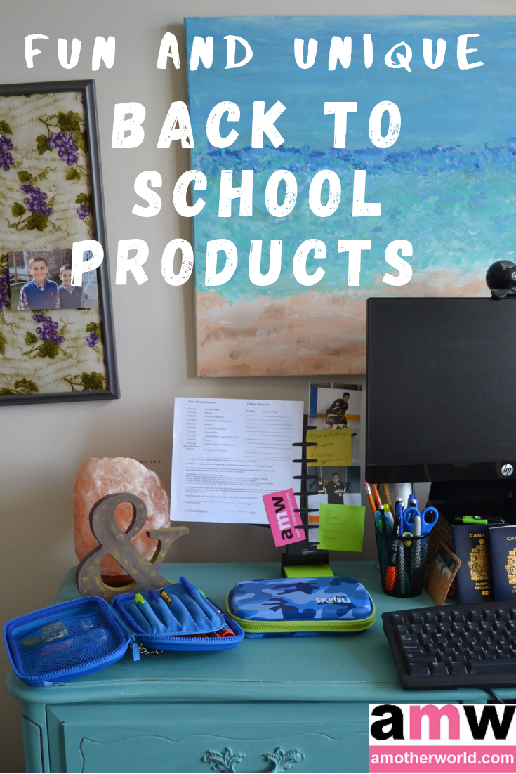 Fun and Unique Back to School Products To Have | amotherworld.com