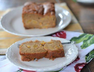 Gluten-Free Peach Loaf Dairy-free