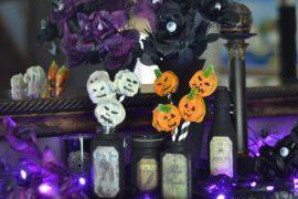 Halloween Jack Skellington Jack O'Lantern Cookies