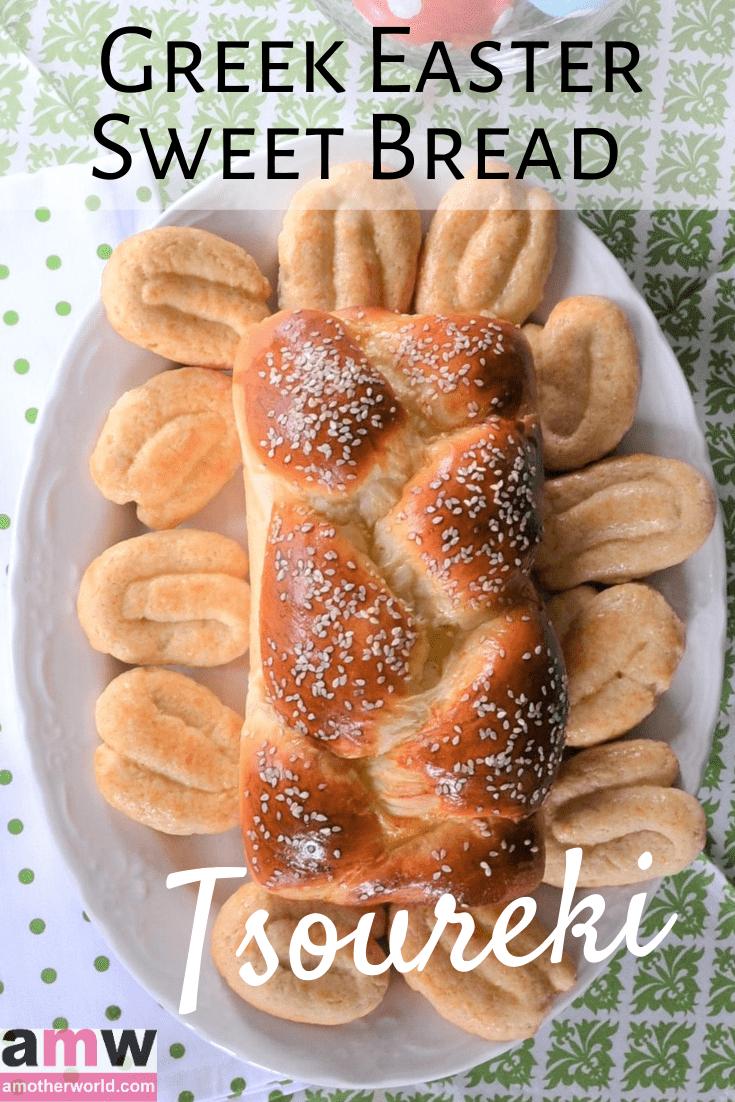 Greek Easter Sweet Bread Recipe on amotherworld.com