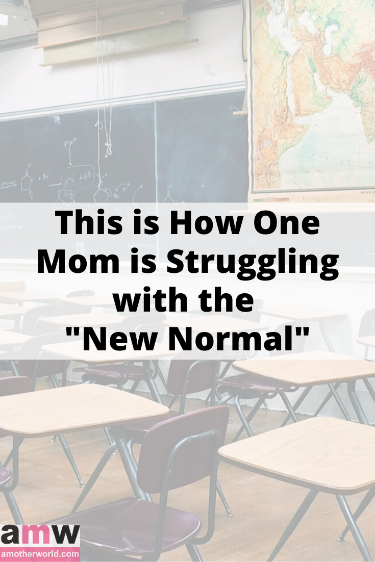 "This is How One Mom is Struggling with ""New Normal"""