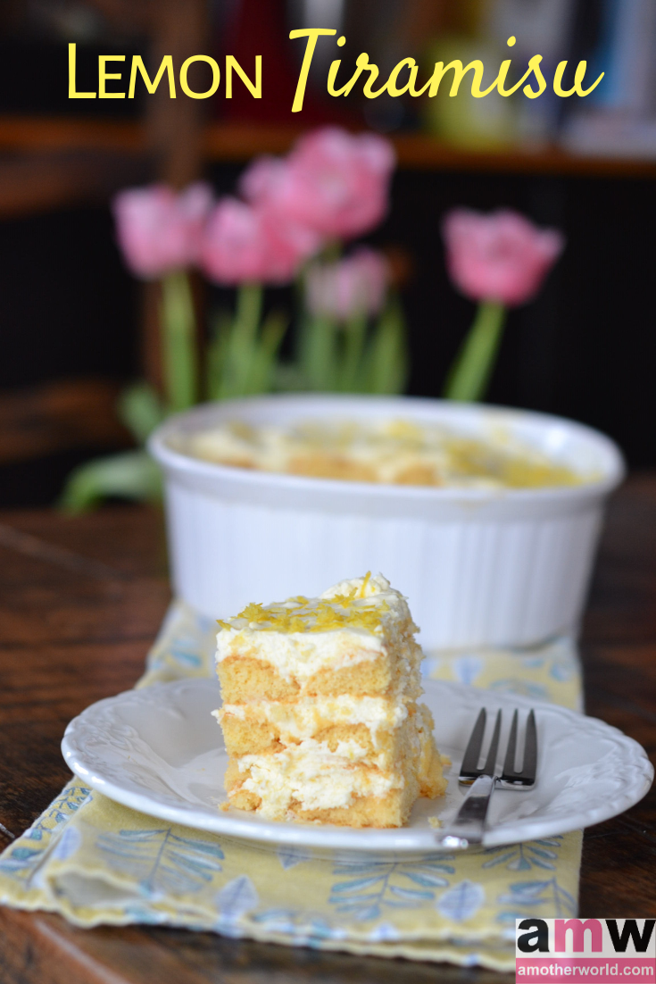 Lemon Tiramisu Recipe ~ amotherworld.com