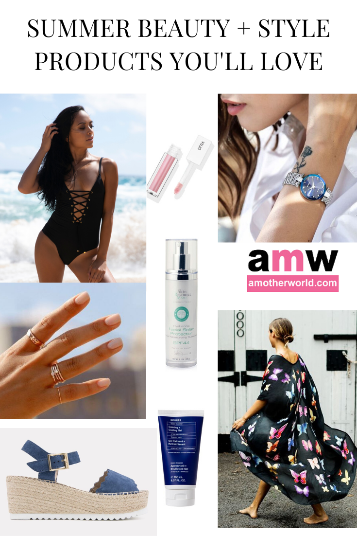 Here are the Summer Beauty and Style Products You'll Love | amotherworld.com