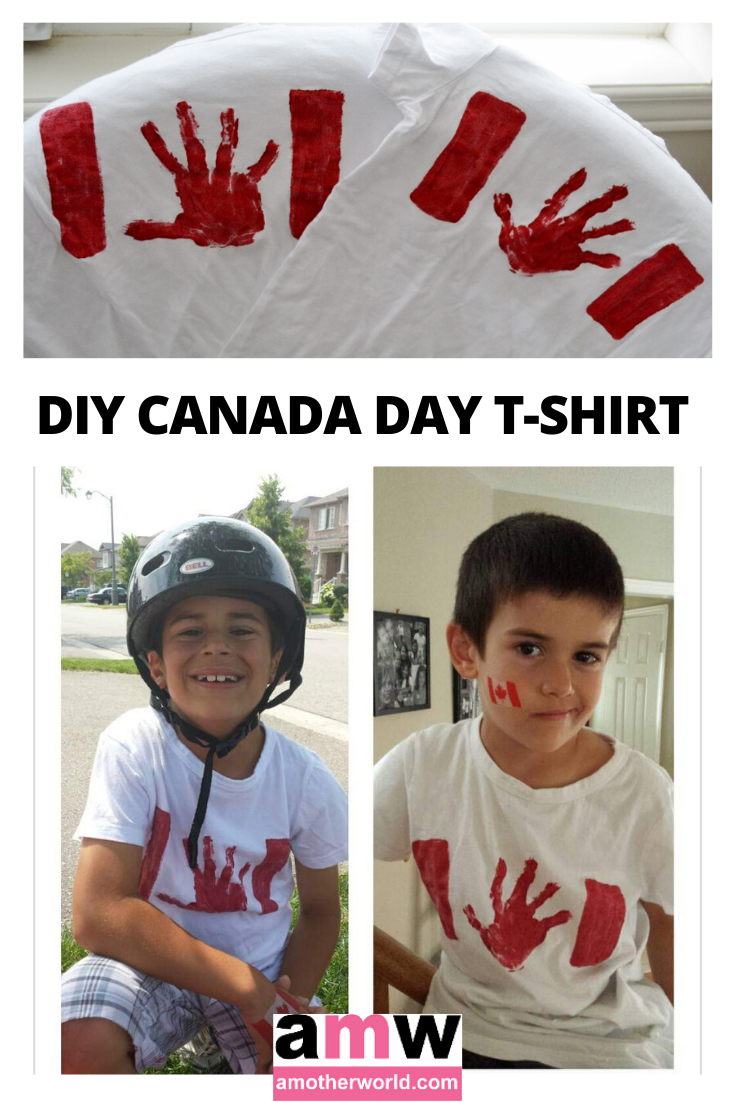 Craft for Kids: DIY Canada Day T-Shirts