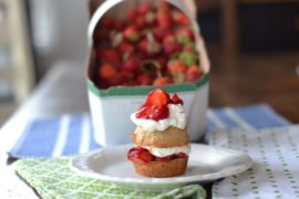 Fresh Strawberry Shortcakes that are Gluten and Dairy Free