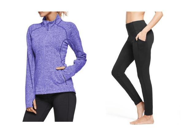 Holiday Gift Guide for Her 2020: Baleaf Fleece Leggings and Track Jacket