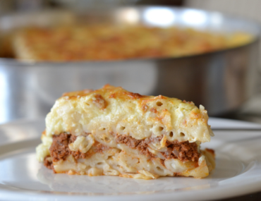 My Mom's Tried and True Recipe for Rich Greek Pastitsio