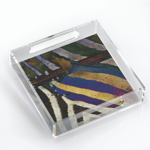 Holiday Git Guide Lucite Tray