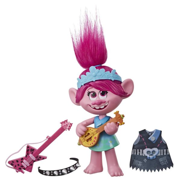 Holiday Gift Guide for Kids DreamWorks Trolls World Tour Pop-to-Rock Poppy