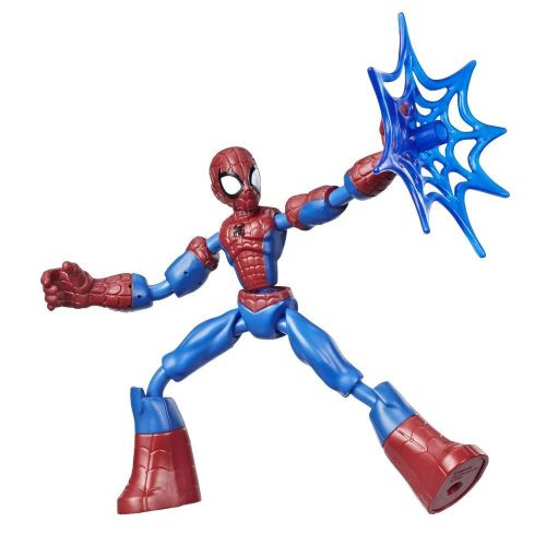 Gift Guide for Kids Marvel Spider-Man and Avengers Bend and Flex Action Figure Toys